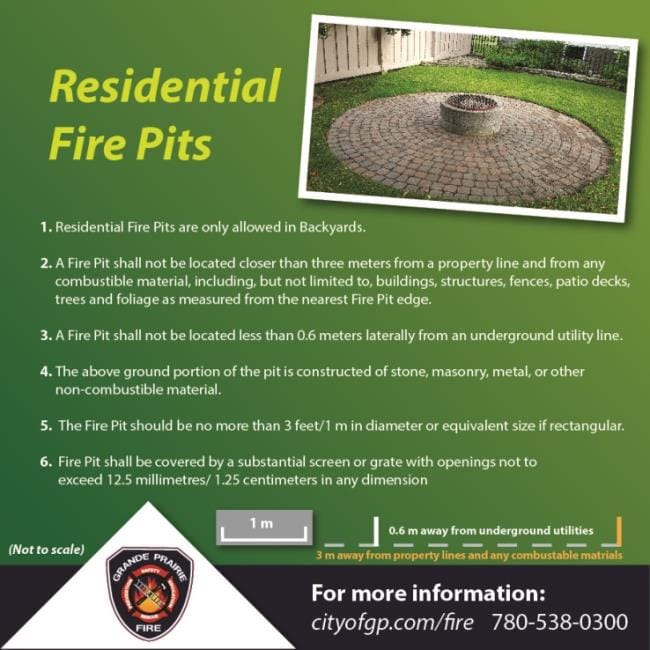 Residential Fire Pit Permits | City of Grande Prairie