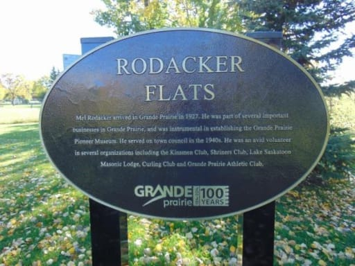 Rodacker Flats Plaque